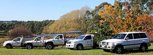 The friendly Frontline team offering pest treatment in Yarra Valley